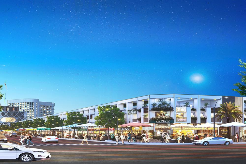 Trung tâm thương mại tại dự án Bencat City Zone Bình Dương