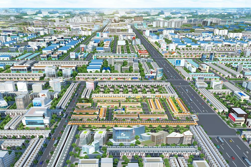 Phối cảnh dự án BenCat City Zone Bình Dương