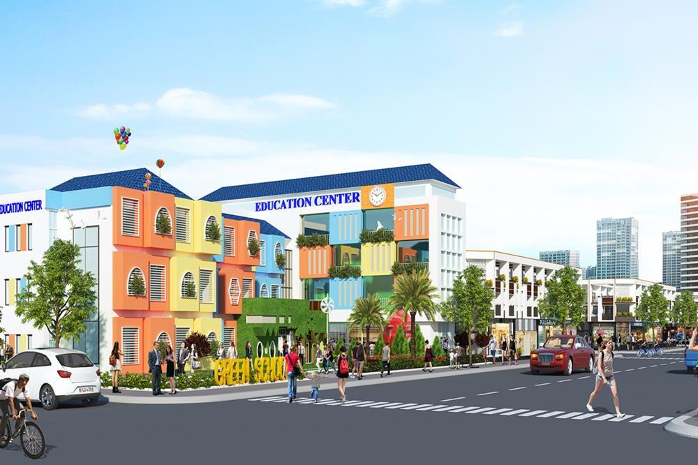 Trung tâm thương mại dự án BenCat City Zone Bình Dương